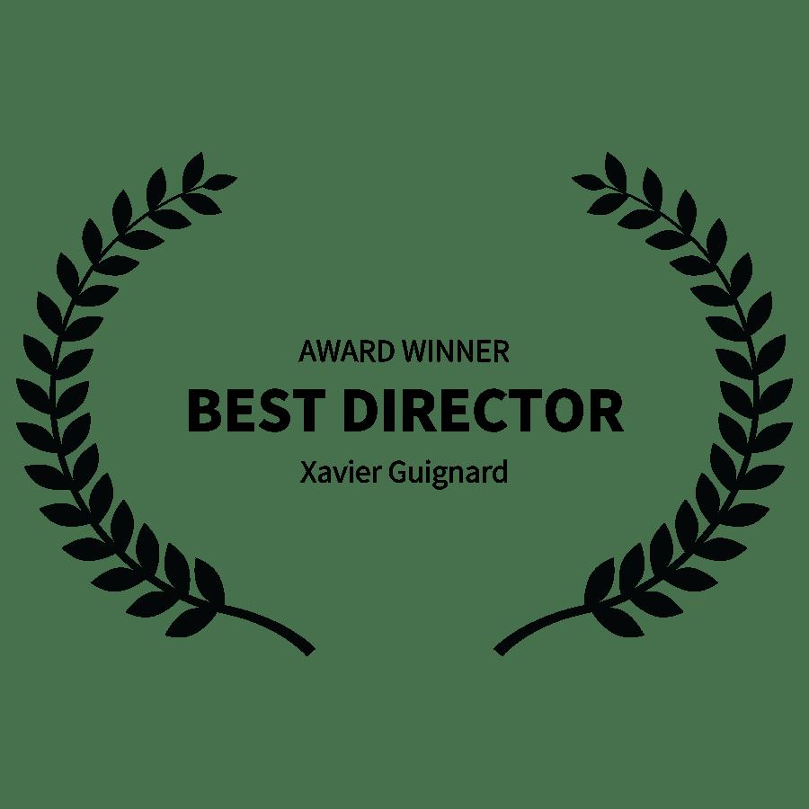 Award Winner Best Director Xavier Guignard