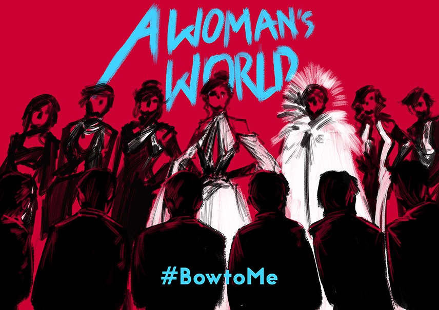 A Woman's World Bow To Me